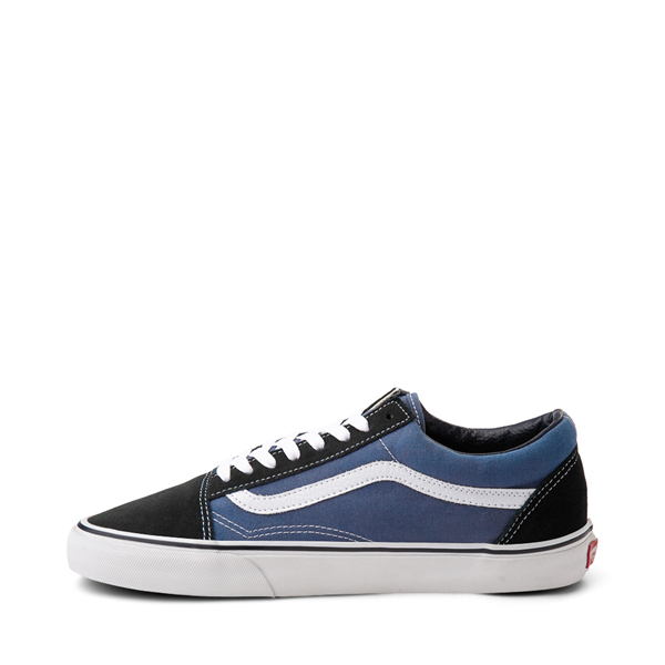 alternate view Vans Old Skool Skate Shoe - Navy / WhiteALT1