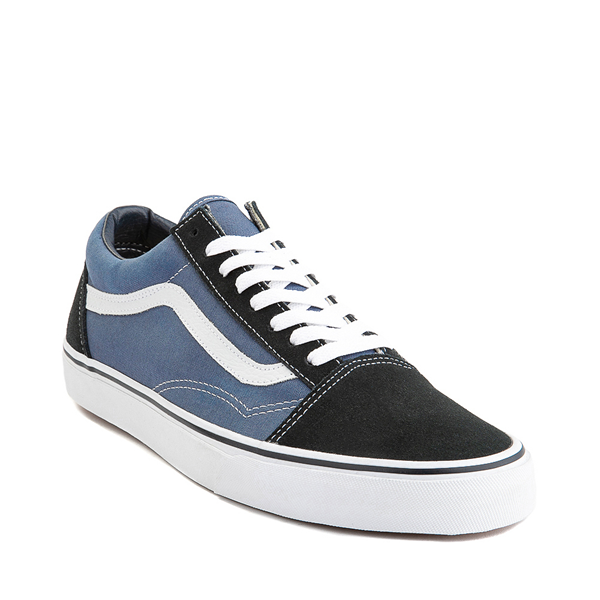 alternate view Vans Old Skool Skate Shoe - Navy / WhiteALT5