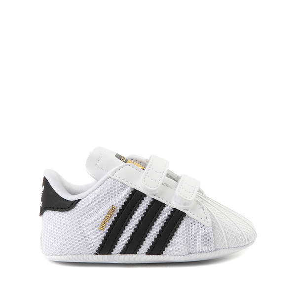adidas Superstar Athletic Shoe - Baby - White / Black