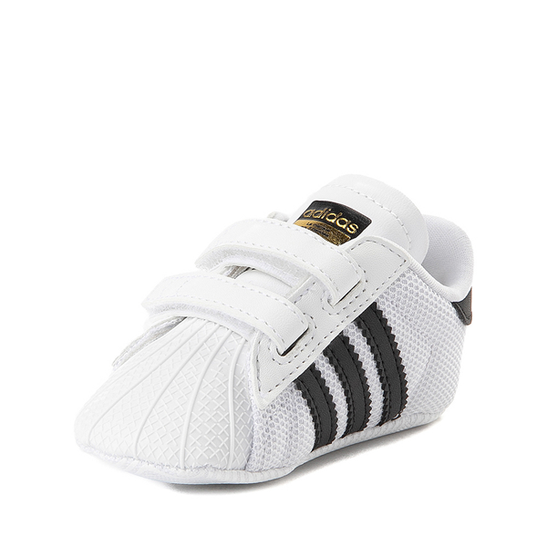 alternate view adidas Superstar Athletic Shoe - Baby - White / BlackALT2