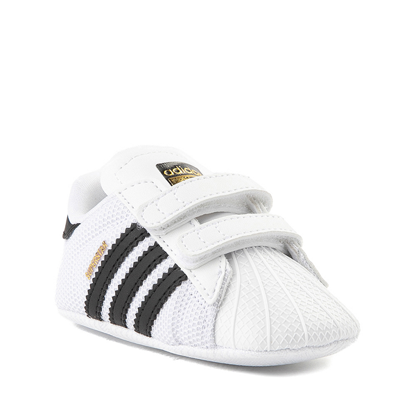 alternate view adidas Superstar Athletic Shoe - Baby - White / BlackALT5