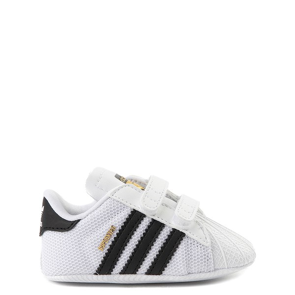 Main view of adidas Superstar Athletic Shoe - Baby - White / Black