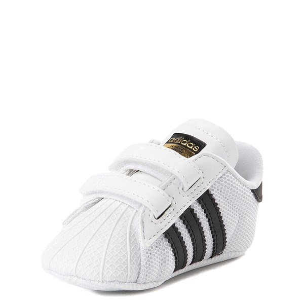 alternate view adidas Superstar Athletic Shoe - Baby - White / BlackALT3