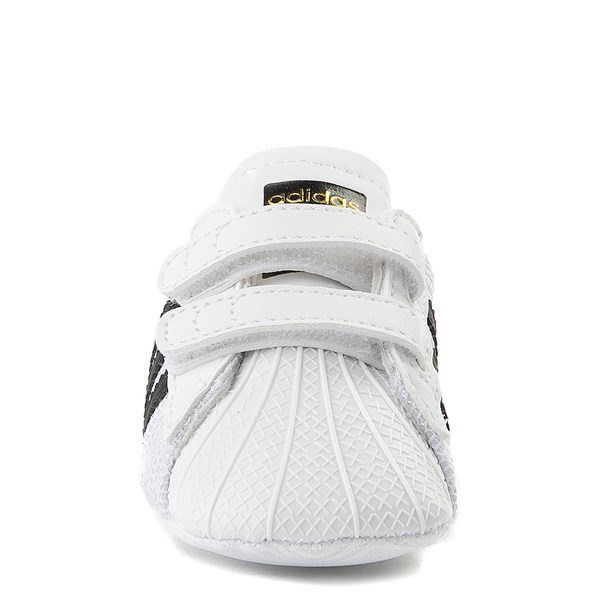 alternate view adidas Superstar Athletic Shoe - Baby - White / BlackALT4