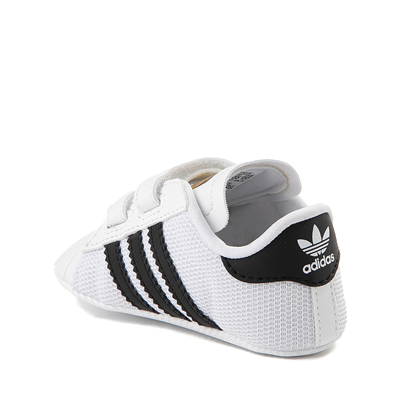 Alternate view of adidas Superstar Athletic Shoe - Baby - White / Black