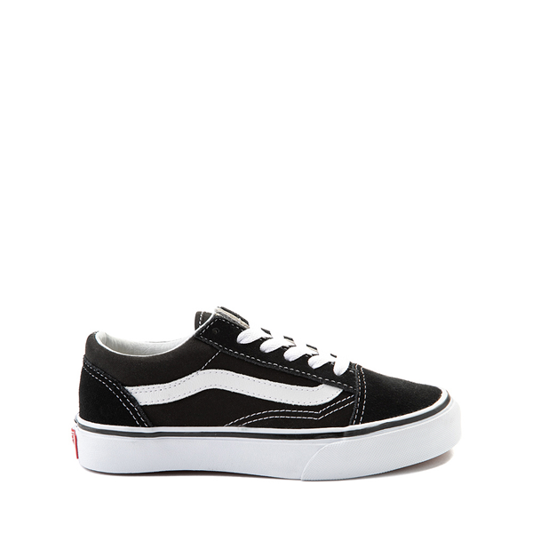 Main view of Vans Old Skool Skate Shoe - Little Kid - Black