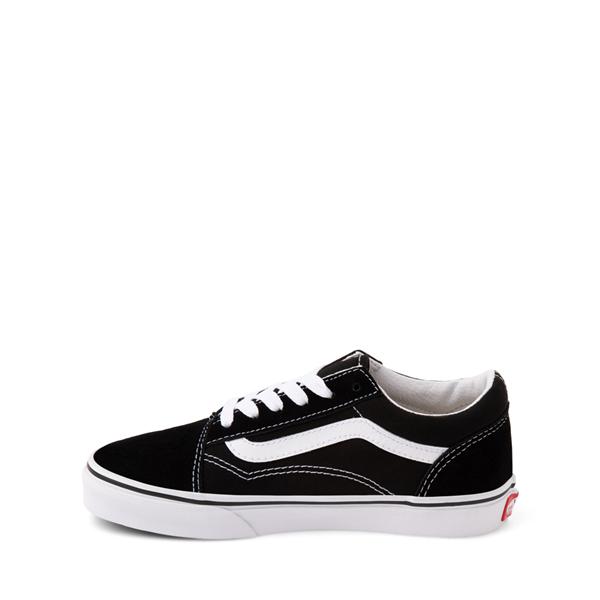alternate view Vans Old Skool Skate Shoe - Little Kid - BlackALT1