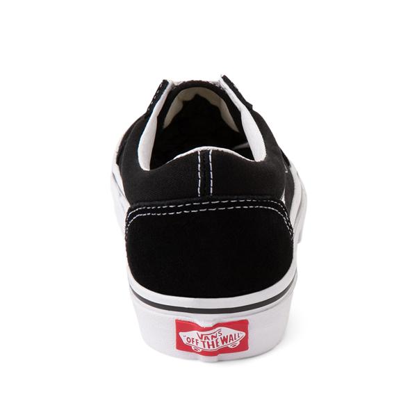alternate view Vans Old Skool Skate Shoe - Little Kid - BlackALT4