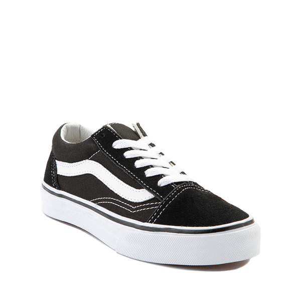 alternate view Vans Old Skool Skate Shoe - Little Kid - BlackALT5
