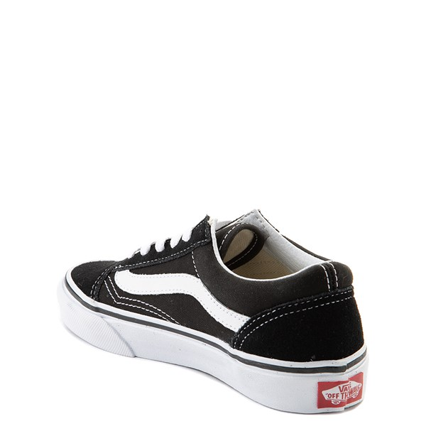 alternate view Vans Old Skool Skate Shoe - Little Kid - Black / WhiteALT2