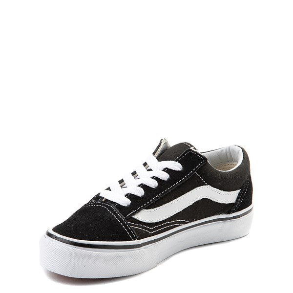 alternate view Vans Old Skool Skate Shoe - Little Kid - Black / WhiteALT3