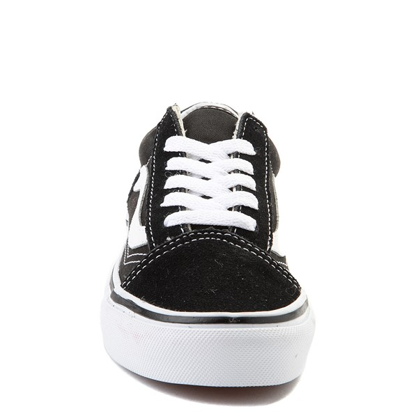 alternate view Vans Old Skool Skate Shoe - Little Kid - Black / WhiteALT4