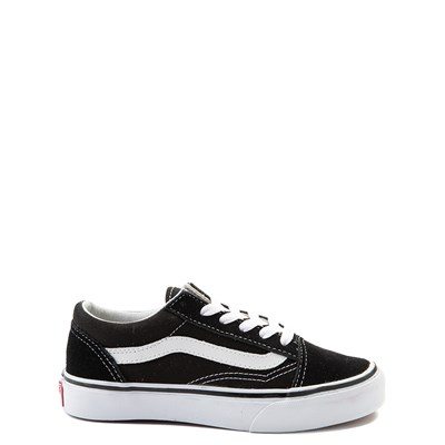 Main view of Vans Old Skool Skate Shoe - Little Kid - Black / White