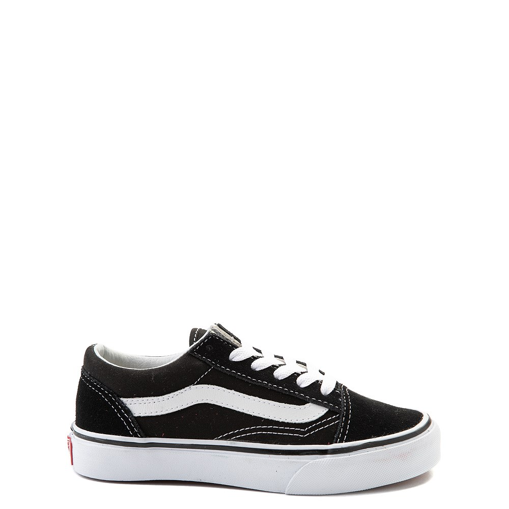 Vans Old Skool Skate Shoe - Little Kid - Black / White