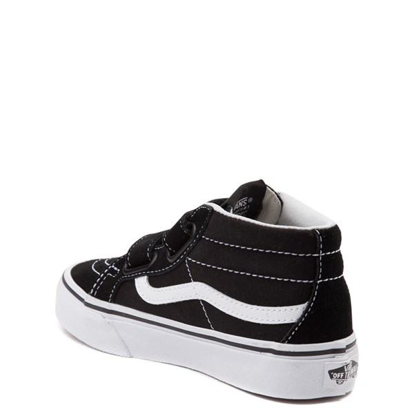 alternate view Vans Sk8 Mid Reissue V Skate Shoe - Little Kid - BlackALT2