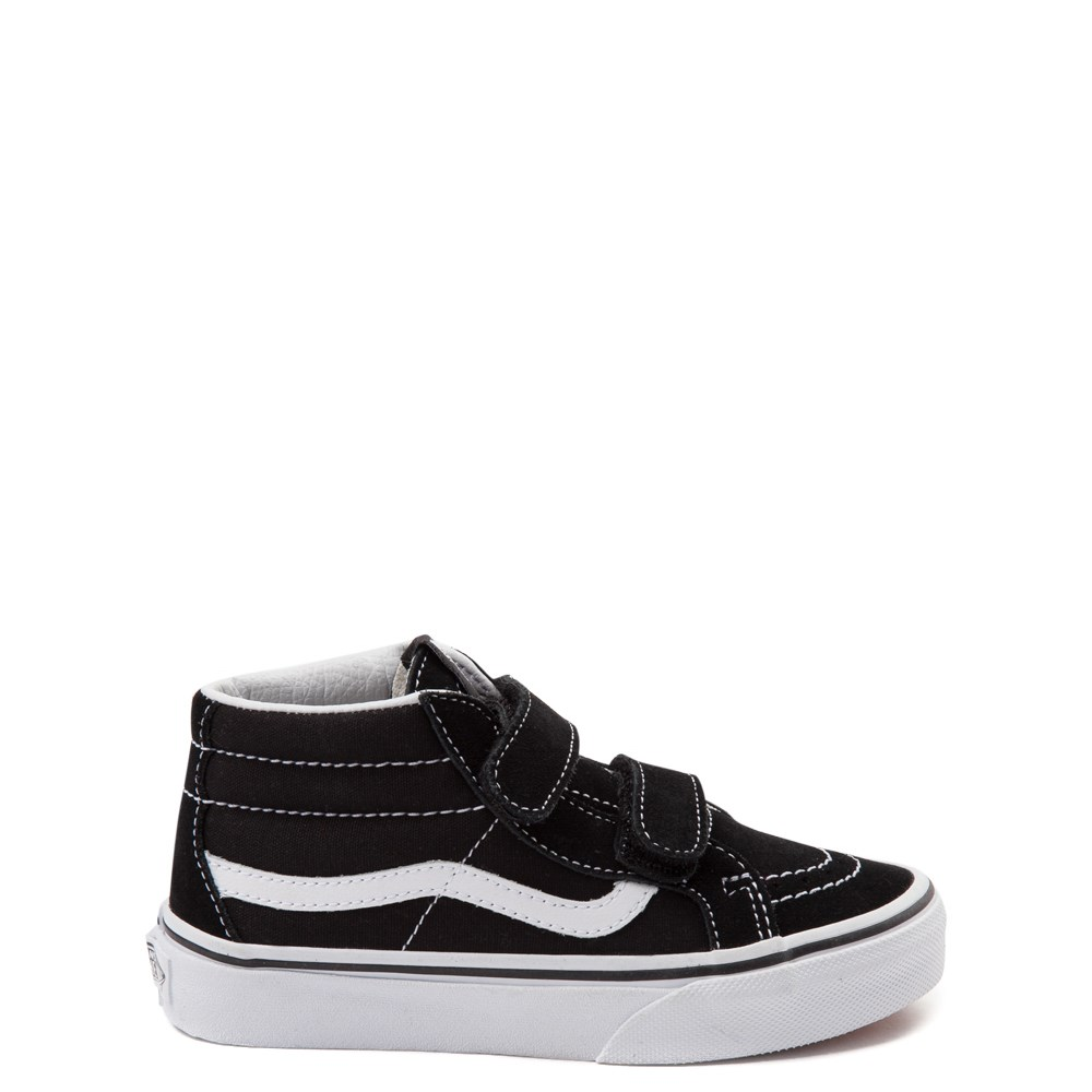 Vans Sk8 Mid Reissue V Skate Shoe - Little Kid - Black