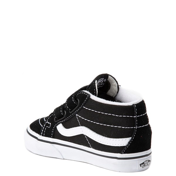 alternate view Vans Sk8 Mid Reissue V Skate Shoe - Baby / Toddler - BlackALT2