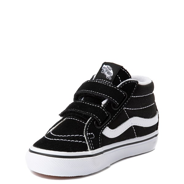 alternate view Vans Sk8 Mid Reissue V Skate Shoe - Baby / Toddler - BlackALT3