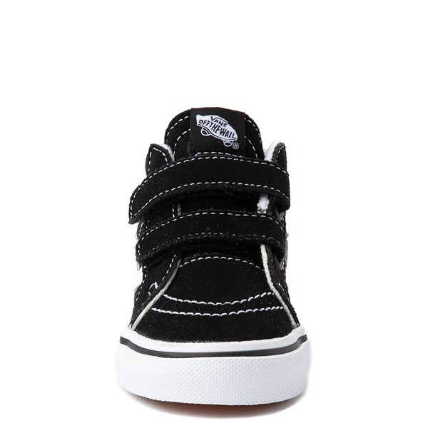 alternate view Vans Sk8 Mid Reissue V Skate Shoe - Baby / Toddler - BlackALT4