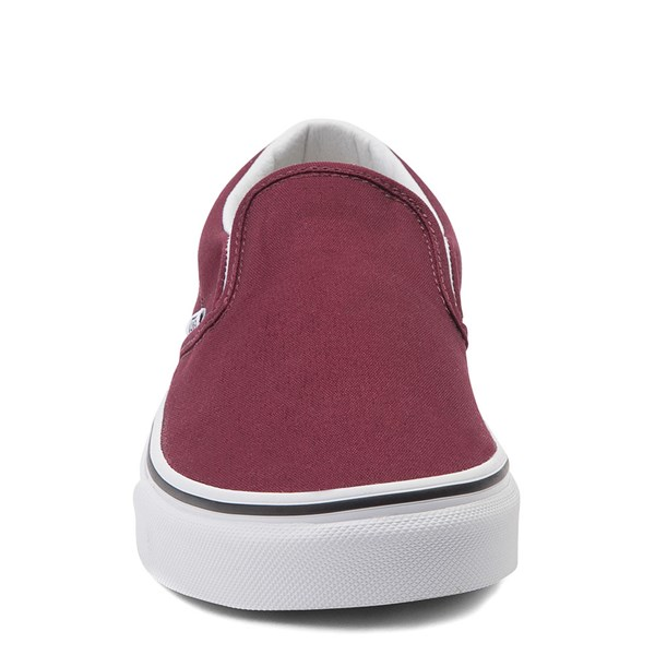 alternate view Vans Slip On Skate Shoe - BurgundyALT4