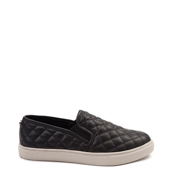 Womens Steve Madden Ecentrcq Slip On Casual Shoe - Black