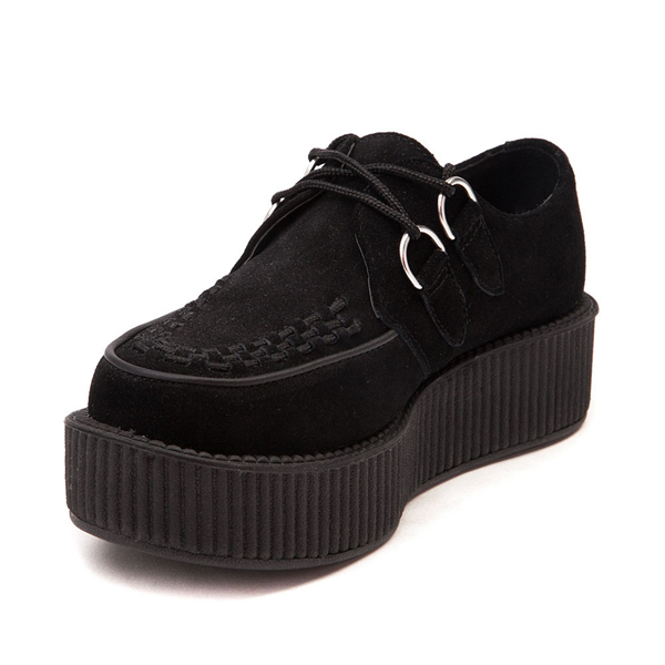 alternate view T.U.K. Mondo Creeper Casual Platform Shoe - BlackALT2