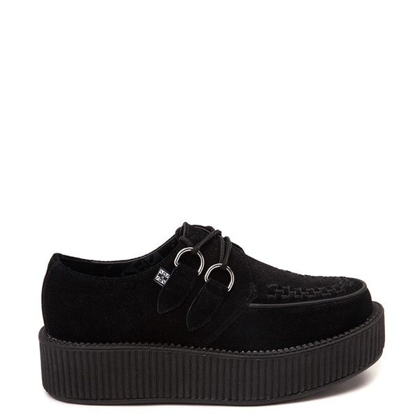 Main view of T.U.K. Mondo Creeper Casual Platform Shoe - Black