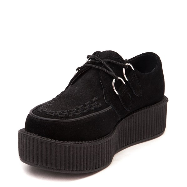 alternate view T.U.K. Mondo Creeper Casual Platform Shoe - BlackALT3