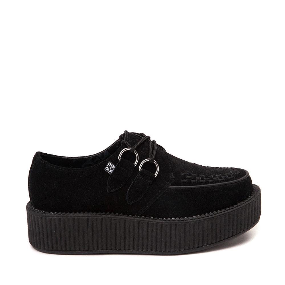 T.U.K. Mondo Creeper Casual Platform Shoe - Black