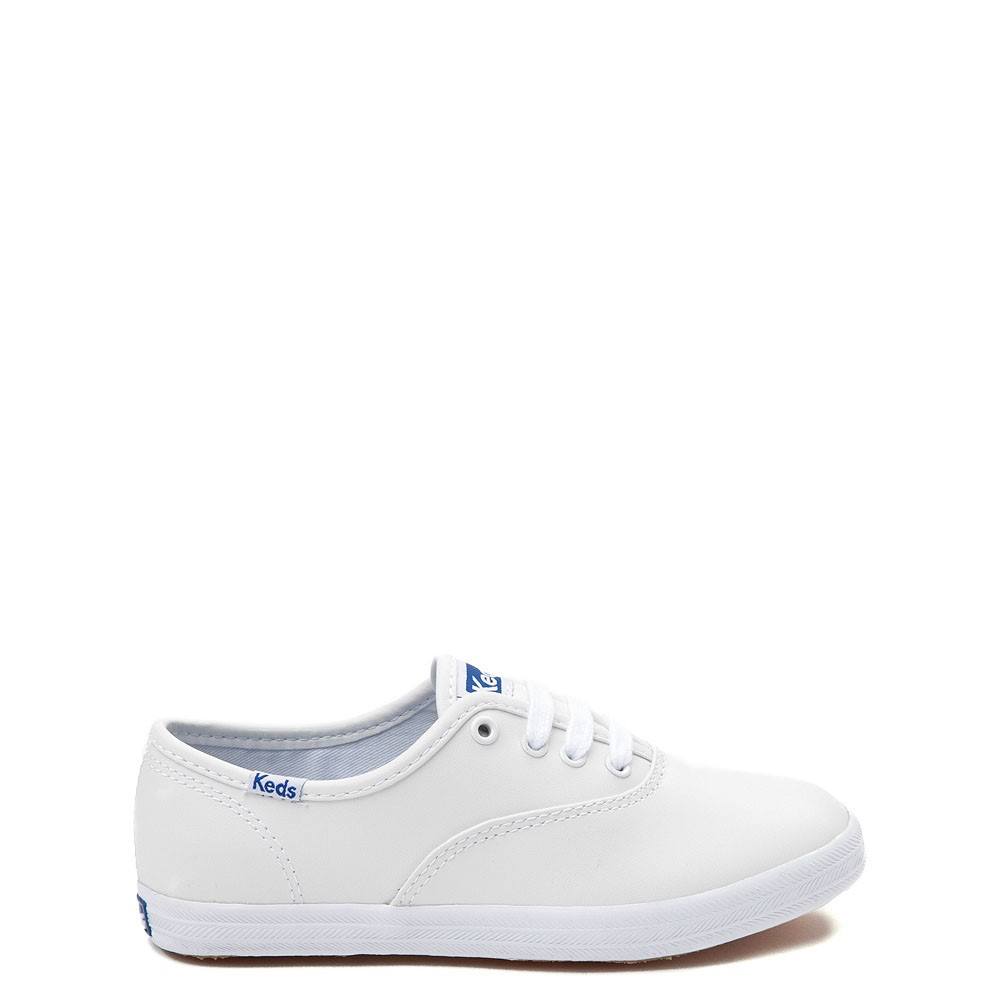 Keds Champion Leather Casual Shoe - Little Kid / Big Kid - White