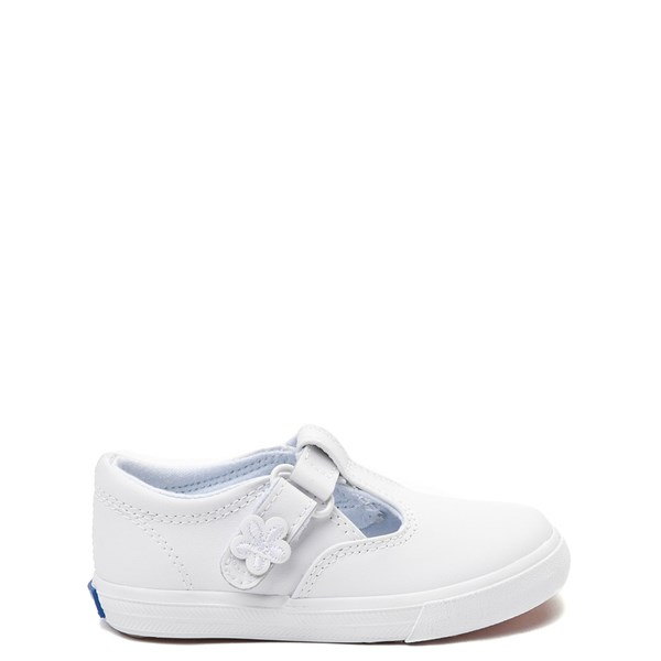 Keds Daphne T-Strap Casual Shoe - Baby / Toddler / Little Kid - White