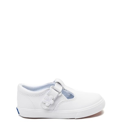 Main view of Keds Daphne T-Strap Casual Shoe - Baby / Toddler / Little Kid - White