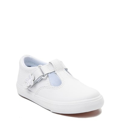 Alternate view of Keds Daphne T-Strap Casual Shoe - Baby / Toddler / Little Kid - White