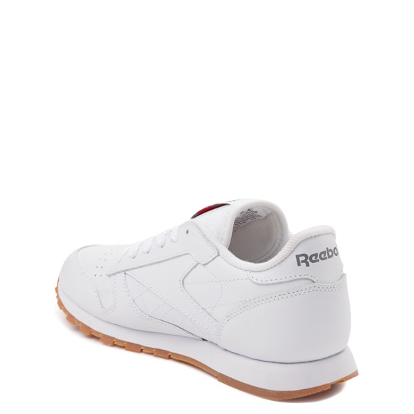 alternate view Reebok Classic Athletic Shoe - Little Kid - White / GumALT1