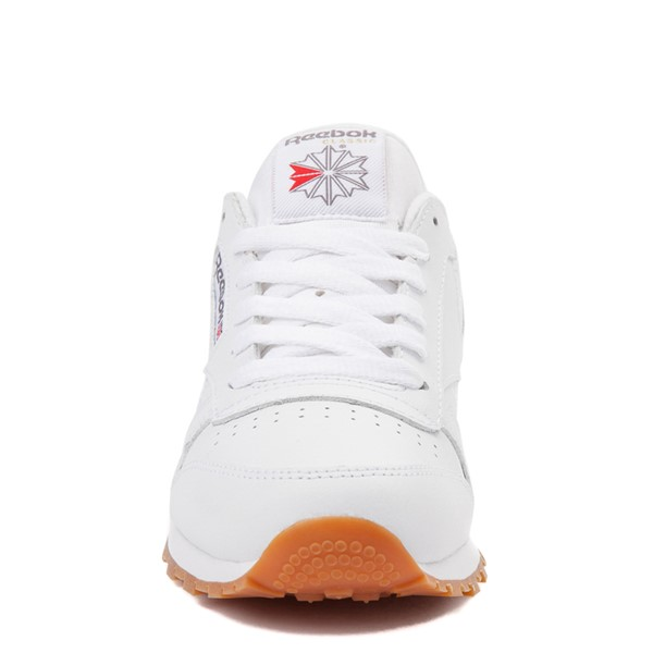 alternate view Reebok Classic Athletic Shoe - Little Kid - White / GumALT4