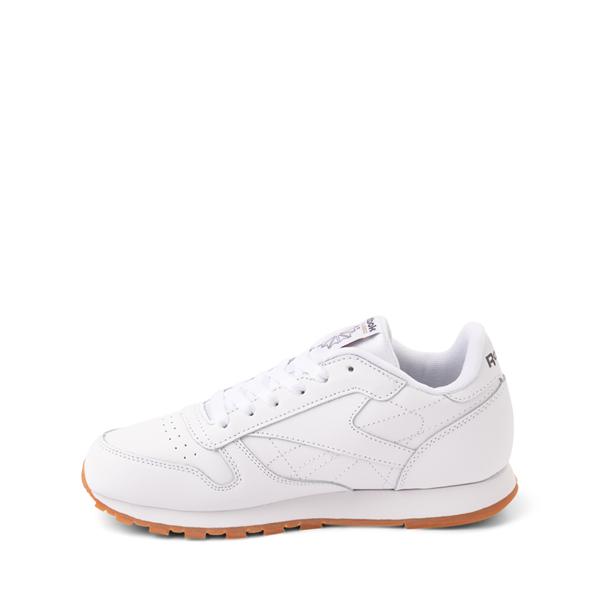 alternate view Reebok Classic Athletic Shoe - Big Kid - White / GumALT1