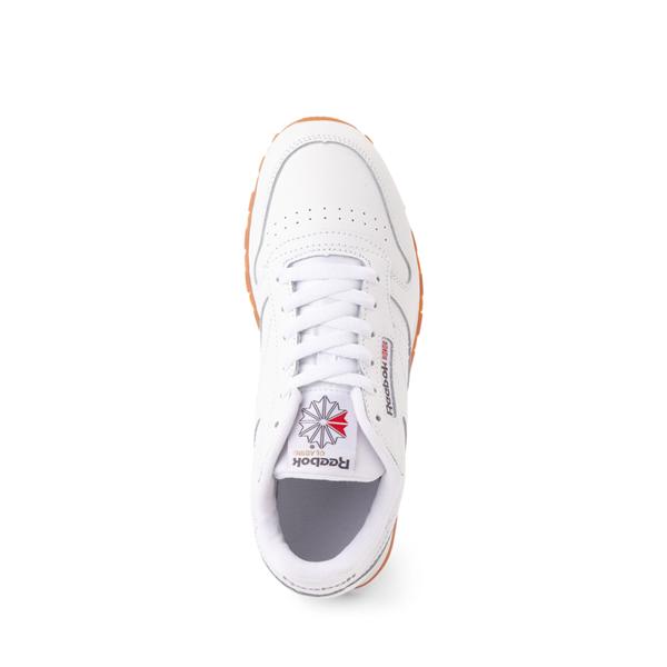 alternate view Reebok Classic Athletic Shoe - Big Kid - White / GumALT2