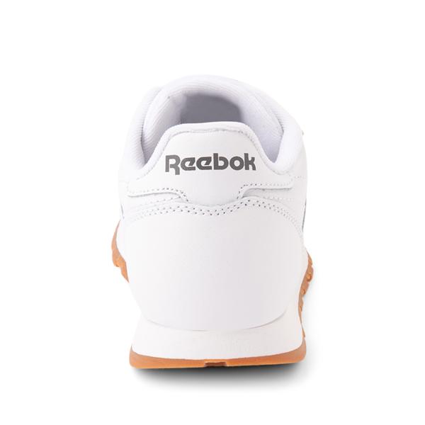 alternate view Reebok Classic Athletic Shoe - Big Kid - White / GumALT4