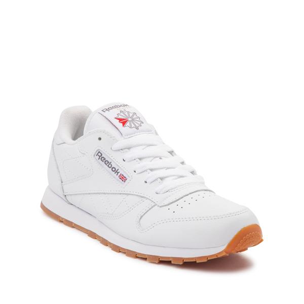 alternate view Reebok Classic Athletic Shoe - Big Kid - White / GumALT5