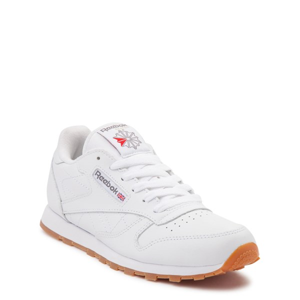 alternate view Reebok Classic Athletic Shoe - Big Kid - WhiteALT1