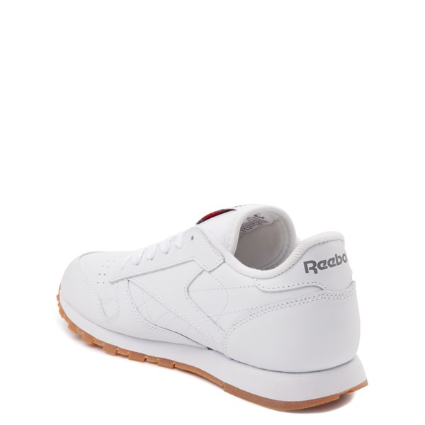 alternate view Reebok Classic Athletic Shoe - Big Kid - WhiteALT2