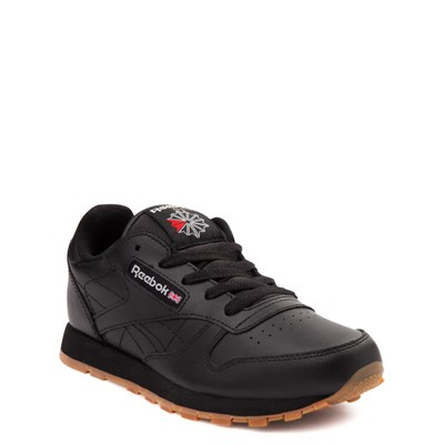 Alternate view of Reebok Classic Athletic Shoe - Little Kid - Black