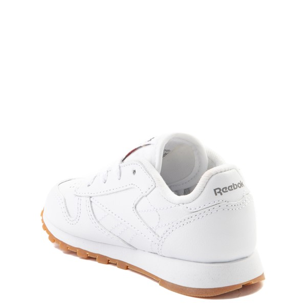 alternate view Reebok Classic Athletic Shoe - Baby / Toddler - WhiteALT1