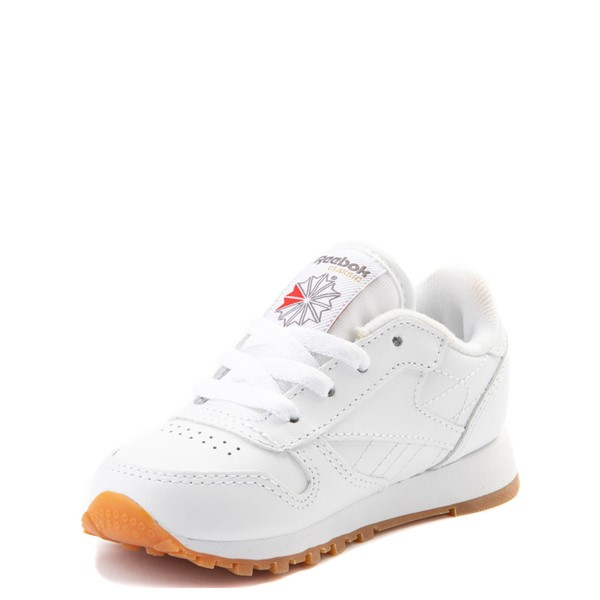 alternate view Reebok Classic Athletic Shoe - Baby / Toddler - WhiteALT2
