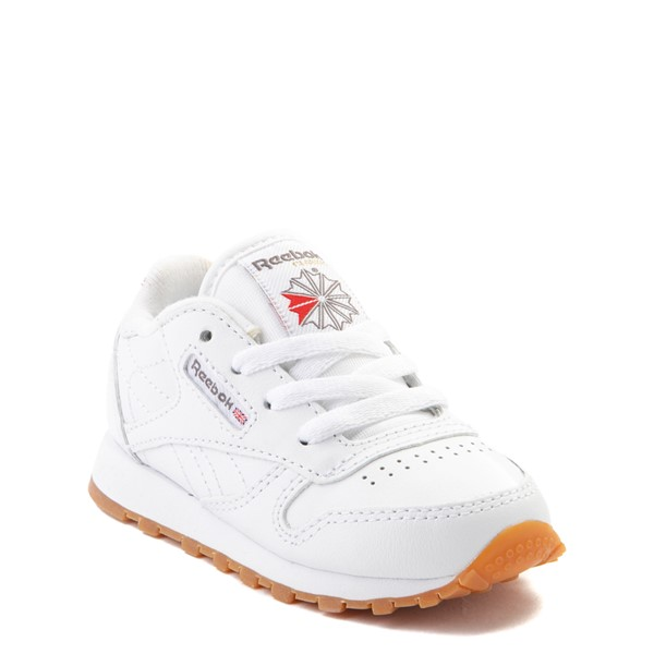 alternate view Reebok Classic Athletic Shoe - Baby / Toddler - WhiteALT5