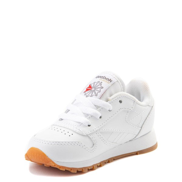 alternate view Reebok Classic Athletic Shoe - Baby / Toddler - WhiteALT3