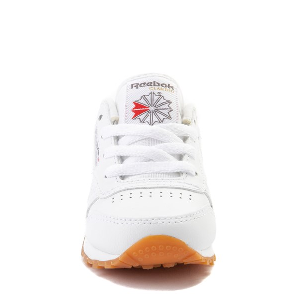 alternate view Reebok Classic Athletic Shoe - Baby / Toddler - WhiteALT4