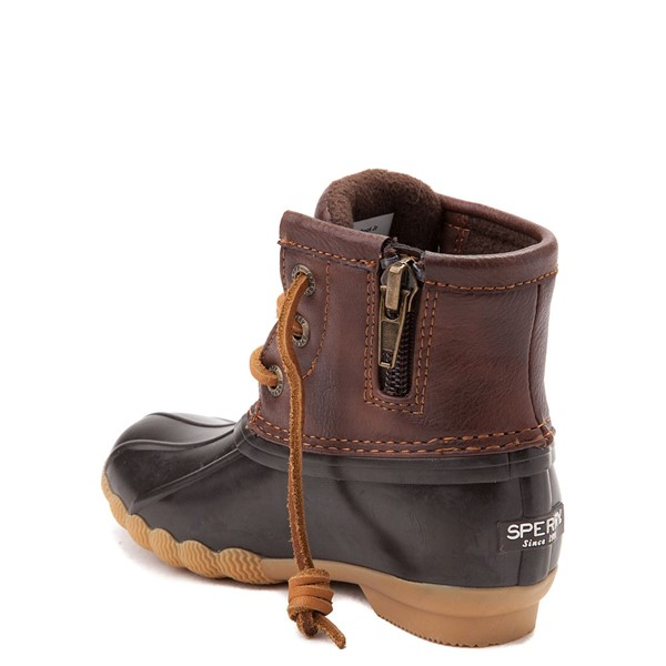alternate view Sperry Top-Sider Saltwater Boot - Toddler / Little Kid - BrownALT1