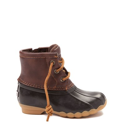 Main view of Sperry Top-Sider Saltwater Boot - Toddler / Little Kid - Brown