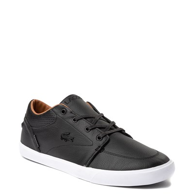 Alternate view of Mens Lacoste Bayliss Vulc PRM Athletic Shoe - Black
